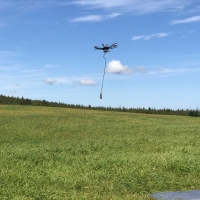 Drone Based Magnetic Survey